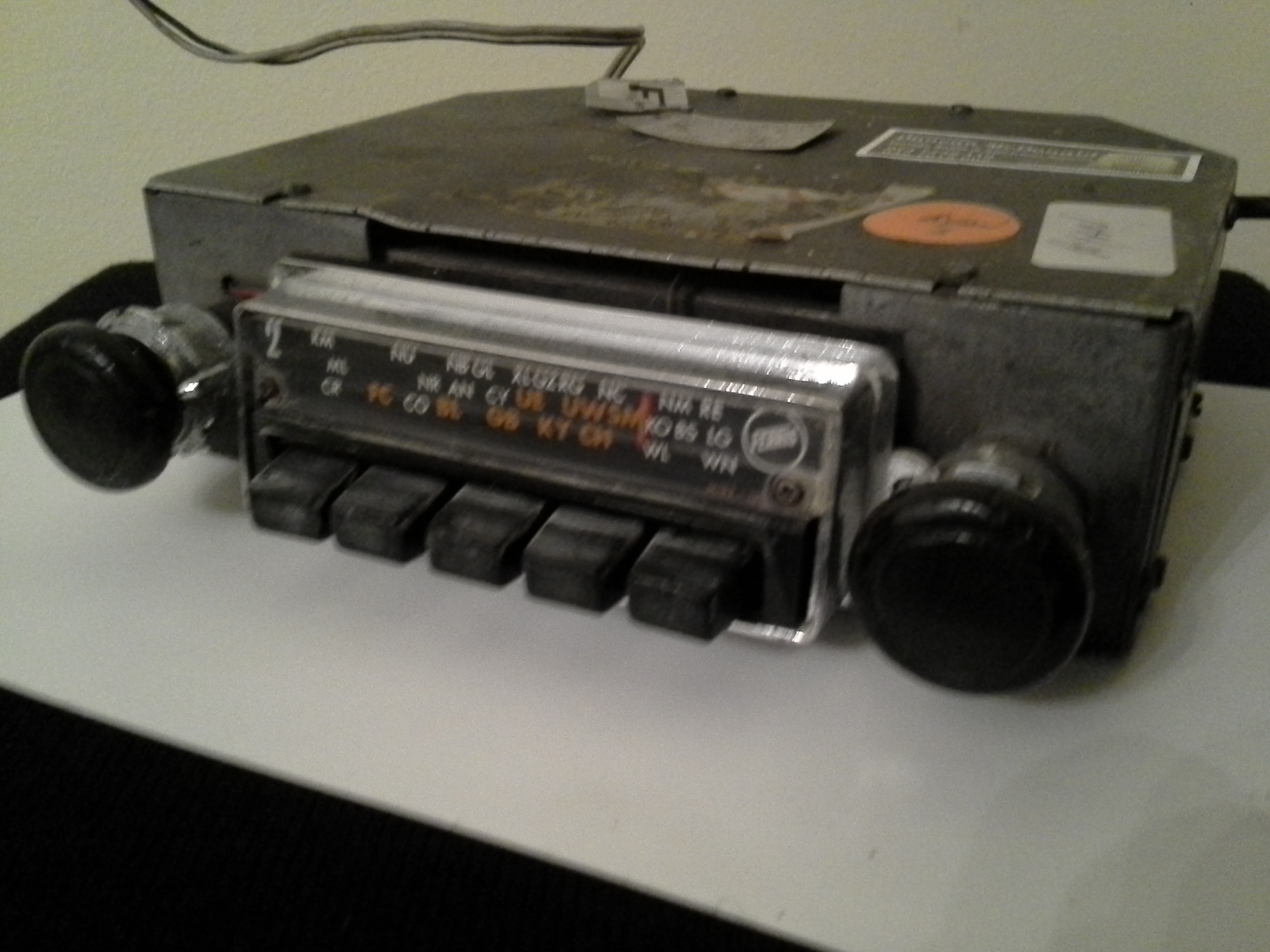 Aftermarket 1960s AM Radio, serviced and tested